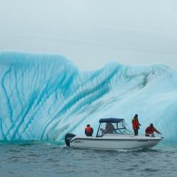 Iceberg & Boat